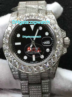 Full diamond brand automatic machine men' s watch new mo...