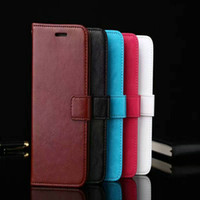 Carteira pu leather case capa bolsa com slot para cartão photo frame para iphone 5 6 7 plus galaxy s5 s6 s7 borda s8