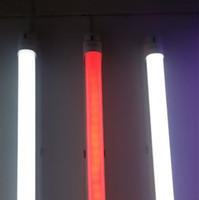 T8 tubos de LED Luzes Cor 5 pés 4 pés 3 pés dois pés G13 AC85-265V 24-10W 2835SMD 1.200 milímetros RGB 12V Adapter bulbos fluorescentes Direto da China Factory