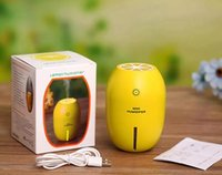 الليمون البسيطة بالموجات فوق الصوتية المرطب ليلة الخفيفة وظيفة الناشر رائحة مع الضوء الروائح الكهربائية رائحة الناشر الصمام USB ميست صانع 1000
