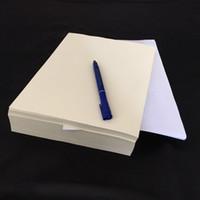 NOUVEAU Papier d'imprimante Pre-Commerce Papier 100% Coton Pass Panneau d'essai avec fibre de couleur étanche A4 Taille 85gsm