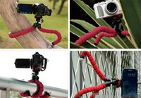 Flexible tripod Holder Mount For Cell Phone Car Sports Camer...