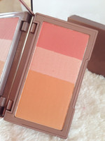 Hot Makeup Blush Palette Maquiagem Cara 3 Colores Flushed + Highlighter + Bronzer Blusher Con Espejo Paleta de Maquillaje envío gratis