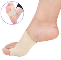 Silicone Hallux Valgus Braces Big Correction Orthopedic Blackmailed Big Chaussettes Blackmailed Toes Separator Outil de soin des pieds 1 paire