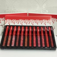 Newest HOT Kylie Kelly Lip Gloss 12- Color Set Matte Non- Stic...
