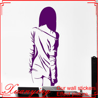 Home Decoration Wall Vinyl Decal Manga Sexy Teen Girl Naked ...