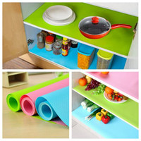 30*150cm Cupboard Mat Can Cut Moisture Proof Anti Oil Cabinet Mats Candy  Color Drawer Cushion Non Slip Washable Wardrobe Pad CCA6610 100pcs