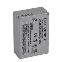 Totalmente decodificado Li-ion Recarregável Bateria Da Câmera NB-7L Para Canon PowerShot G10 G11 G12 SX30