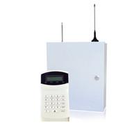 가정 안전 자기 방위 PSTN GSM SMS 경보망 315 / 433MHz 16의 유선과 무선 영역 LCD 키패드 도난 경보기