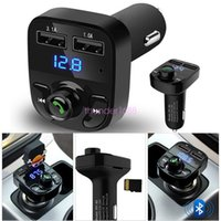 Wireless Bluetooth FM audio music Transmitter LCD MP3 Player...