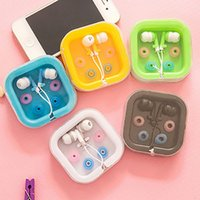 For iphone 6 sansung S8 S7 Candy Color Wired In- ear Earphone...