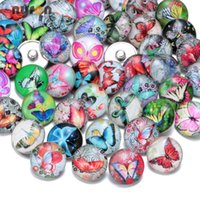50pcs lot Wholesale Multi Patterns Amazing Mixed styles 18mm...