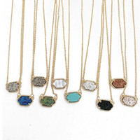 Hot kite shinning Necklace, Durzy Silver Gold Plated Geometr...