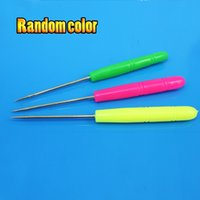 Wholesale- 1 pieces Handwork awl needle DIY NEEDLE HOLE Dril...