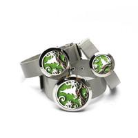 아로마 에센셜 오일 디퓨저 시계 밴드 팔찌 크리스마스 트리 316L 스테인레스 스틸 로켓 펜던트 7 리필 패드