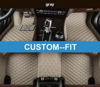 Veeleo Custom-Fit 6 Цветов кожаных автомобилей для ног маты для Audi S3 S5 S6 S7 S8 SQ5 водонепроницаемый противоскользящий 3D автомобильные коврики ковров
