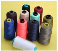 6 Colors 3000 Yards Industrial Overlocking Sewing Machine Po...