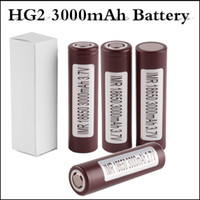 18650 battery HG2 3000mAh Capacity Max 35A High Drain Batter...