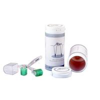 Cuidados com a pele multa micro agulha derma derma rolo médico derma manual de uso doméstico 192 agulha dermaroller