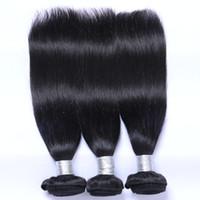 Natürliche Farbe Remy Human Hair Extensions Gerade Haargewebt Brasilianische malaysische peruanische indische menschliche jungfräuliche Haarbündel können Farbstoff Ombre sein