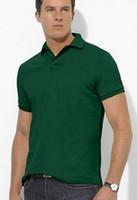 HOT 고품질 남성 짧은 소매 셔츠 망 스포츠 캐주얼 t 셔츠 골프 셔츠 100 % COTTON 큰 말 플러스 크기 S-XXL