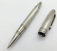 Mozac . A Collection Silver Strip Roller Pen 0. 5MM Black Ink ...
