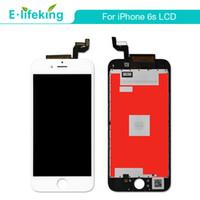 아이폰 6S 4.7 인치 LCD 디스플레이 6S 플러스 터치 터치 디지타이저 3D 터치 완전 교체 + 무료 배송 + 블랙 화이트 컬러
