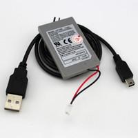 교체 용 배터리 Power Pack for PlayStation 듀얼 쇼크 4 PS4 슬림 프로 PS3 무선 컨트롤러 게임 패드 USB 케이블 충전식 배터리 DIY