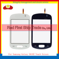 White Black Replacement Touch Screen Digitizer For Samsung G...