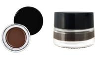 Crème pour les sourcils imperméable et durable 7g 5color sans logo design pack boîte noire OEM votre logo rehausseurs de sourcils imprimé maquillage naturel