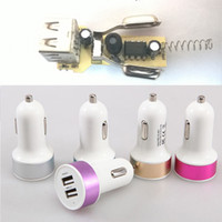 Dual Port Universal USB Car Charger Compatible with apple ip...