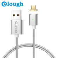 Elough Magnetic Nylon Braided Cables Quick Chargers For USB ...