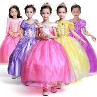 Kids Fair Girls Christmas Costumes Long Dresses Beauty and T...