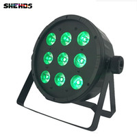 9x12W 4in1 RGBW Led Stage Light LED Flat SlimPar Quad Can Wi...