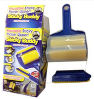 Sticky Buddy Roller Reusable Lint Hair Pet Remover Picker Cl...