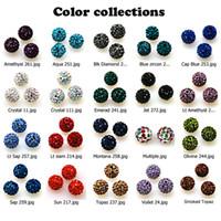 Pave Micro Crystal Ball Beads 10mm Disco Ball met Volledig Crystal voor DIY Sieraden Maken Accessoires