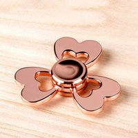 Rainbow Tri- Butterfly Fidget Spinner Toys alloy bearing fing...