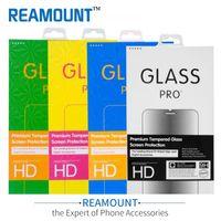 Caja de embalaje de paquete de venta al por menor de papel universal personalizado para teléfono móvil Embalaje de protector de pantalla de vidrio templado