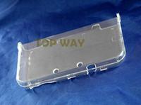 شفاف الصلب حالة الغطاء الواقي شل ل 3DS XL / LL جديد 3DSXL 3DSLL وحدة التحكم الجسم حامي