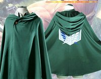 Japanese Anime Costume Cosplay Attack On Titan Costume Green...