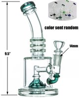 HALF FAB EGG PERC WATER PIPE 9.5