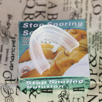 DHL livre anti ronco ronco starter conjunto anti mouthguard molar anti-ronco recipiente contendo caixa