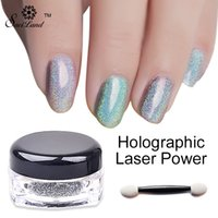 Wholesale- 1g Box Shimmer Rainbow Shinning Mirror Nail Glitt...