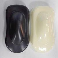 Белый / чернота 10 частей формы скорости АБС для показывать и испытывать стикер винила обруча автомобиля