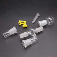 Bong adaptador de vidro coletor RECLAIM cinzas CATCHER ADAPTADOR 18mm 14mm macho para feminino masculino para masculino feminino bongs de vidro de água tubos de tubos