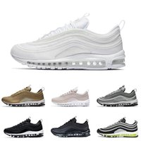 97 OG X Undftd Black Speed Red DS Best Quality Men 97S Tripl...