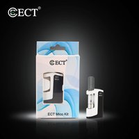 authentiques kits de démarrage pour stylo vape ECT Mico avec 0,5 ml de cartouches en céramique G5 350mAh vv préchauffer la batterie Tension Variable mini box mod Kit