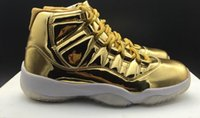 AAAAA Men 11 Gold Basketball Shoes, Color 21, Real Carbon Fibr...