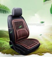 2019 nouvelle couverture de siège de voiture universelle de haute qualité perles de bois coussin de bambou tapis en bambou coussin d'été en bonne santé coussinets confortables perles de bois conjointe