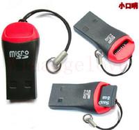 ホイッスルUSB 2.0 T-FlashメモリカードリーダーTFカードマイクロSDカードリーダーアダプタ8GB 16GB 32GB 64GB